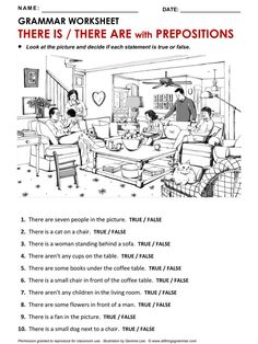 Good Picture for Prepositions Activities Awesome Collection Of Worksheets English House Kids English, English Tips, English Study, Learn English, English House, English Grammar For Kids, English Lessons For Kids, Grammar Quiz, Grammar Practice
