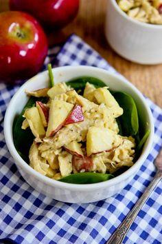 Paleo chicken salad with homemade mayo :)