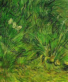 Van Gogh series - Buterflies http://designmuitomais.blogspot.com.br/2015/01/serie-van-gogh-borboletas.html