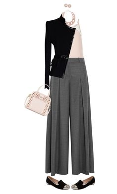 """Office Appropriate"" by polylana ❤ liked on Polyvore featuring moda, Cameo Rose, J.Crew, Miu Miu, DIANA BROUSSARD, Gai Mattiolo, Kate Spade, Givenchy, women's clothing e women"