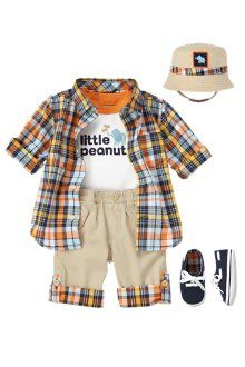 Love this baby boy outfit!