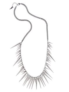 Refinery29 Shops: Chloe + Isabel Long multi spike drops necklace - Chloe + Isabel - Boutiques