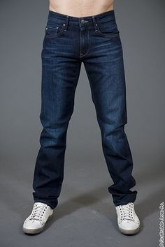 Mavi Zach Straight Leg Long Inseam Jean $138.00 #scottsdalejeanco #sjc #fallfashion