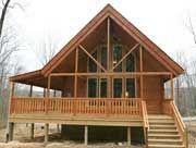 Conestoga Log Cabins Mountain King 20x36 Cabins Tree