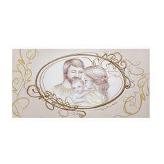 Quadro Capezzale Sacro Ottaviani dipinto a mano su tela, raffigura ...