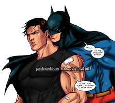 """Silly Clark being Silly by Phardil on deviantART (uh I don't think he's trying to be """"silly"""")"""