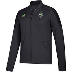 Men s Seattle Sounders FC adidas Charcoal Anthem Full Zip ZNE Jacket Mls  Seattle, Adidas Men e163419865