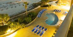 Located beachfront on Pensacola Beach, Florida. #pensacolabeach