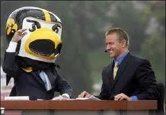 Kirk Herbstreit & Herky the Hawk!