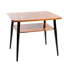 Stolik deserowy drewno 55,5 x 69,5 x 57 cm Polska, 3 ćw. XX w.