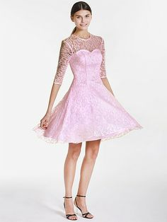 Sweetheart and Lace Vintage Bridesmaid Dress | Plus sizes available! You can even custom dress color with them!