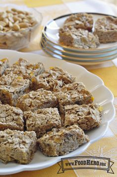 Peanut Butter Breakfast Bars   Food Hero - Healthy Recipes that are Fast, Fun and Inexpensive