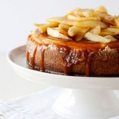 Caramel Apple Cheesecake « Go Bold with Butter