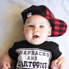 Snapbacks and Cartoons cute baby tee, cute baby clothes, cute kid clothing, cute kid, photo shoot,