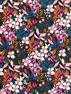 Floral Print Fabric, Floral Prints, Art Prints, Green Vans, Dressmaking, Soft Fabrics, Printing On Fabric, Photo Galleries, Craft Projects