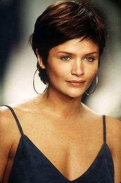 Image result for helena christensen short hair