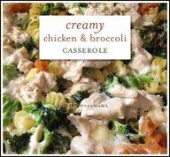 Healthy Meal Planning: Creamy Chicken and Broccoli Pasta with NO Canned Cream Soup + Tuna Salad + Taco Casserole + Pizza + Sundried Tomato Pasta @happygreenmama1