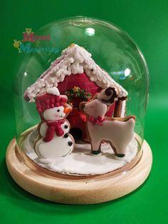 Royal Icing, Snow Globes, Gingerbread, Home Decor, Decoration Home, Room Decor, Ginger Beard, Home Interior Design, Home Decoration