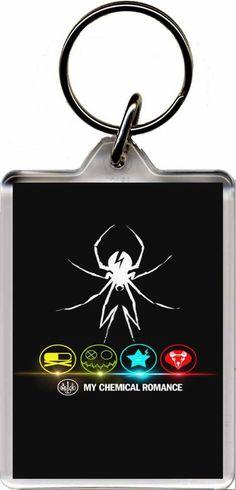 My Chemical Romance - Plastic Key Ring B