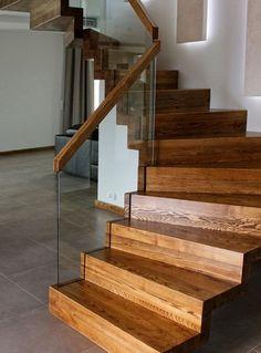 Schody dywanowe bejcowane szkło wpuszczane « Perfect – Schody dywanowe…