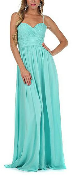 Minty Gown, so pretty and fresh