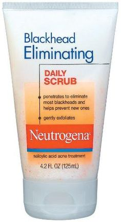 Neutrogena Blackhead Eliminating Daily Scrub, 4.2 Ounce***Size: Pack of 1.2% Salicylic Acid,Smooth microbeads,Gently exfoliates,Penetrates to eliminate most blackheads,Helps prevent new blackheads,.