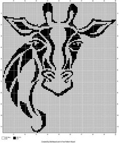 Cross Stitch Animals, Cross Stitch Kits, Counted Cross Stitch Patterns, Cross Stitch Charts, Cross Stitch Embroidery, Embroidery Patterns, Crochet Cross, Crochet Chart, Tapestry Crochet