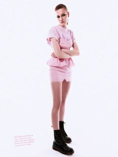 """Duchess Dior: """"Bubble Gum Punk"""" ELLE UK April 2021 Purple Fashion, High Fashion, Punk Princess, Bubble Gum, Isabel Marant, Pretty In Pink, Dior, Bubbles, Ballet Skirt"""