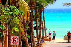 Tropical Beach, Playa Del Carmen, Mexico