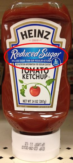 READ YOUR FOOD LABELS -- the front of the product is often misleading and doesn't tell you the whole story.