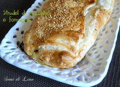 Strudel di zucchine e formaggio: ricetta facile | Semi di lino