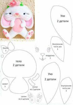 Ambrosial Make a Stuffed Animal Ideas. Fantasting Make a Stuffed Animal Ideas. Felt Doll Patterns, Animal Sewing Patterns, Sewing Stuffed Animals, Stuffed Animal Patterns, Felt Gifts, Fabric Toys, Sewing Toys, Felt Diy, Felt Dolls