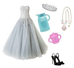 """kids are still depressed when you dress them up, and syrup is still syrup in a sippy cup."" by melancholytownn ❤ liked on Polyvore featuring beauty, Marchesa and Giuseppe Zanotti"