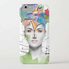 Colorist - iPhone 7 case with original surreal art by Nola Lee Kelsey