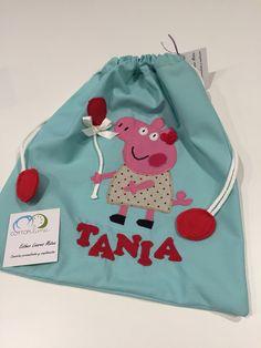 Bolsa de merienda multiuso personalizada #bag #tute #bolsa #merienda