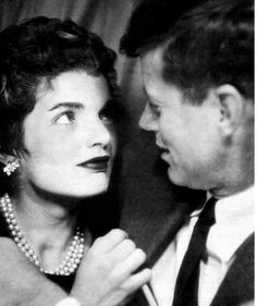 Jack and Jackie, cute as ever and in another photo booth, when they were newlyweds.