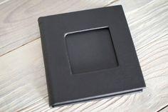 Black CD/DVD case for 2 cd dvd box wedding box par WedBox sur Etsy