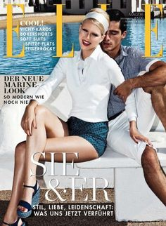 On the cover of every issue of #ELLE Germany magazine features a photo of a significant female personality of magnitude in regard to modern society