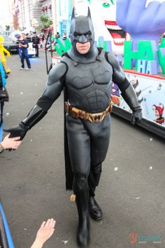 Hi. I'm Batman - Movie World, Gold Coast, Australia