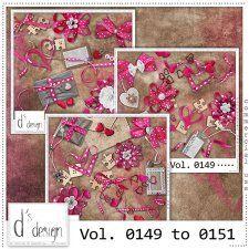 Vol. 0149 to 0151 - Love Mix  by Doudou's Design  cudigitals.com cu commercial scrap scrapbook digital graphics#digitalscrapbooking #photoshop #digiscrap