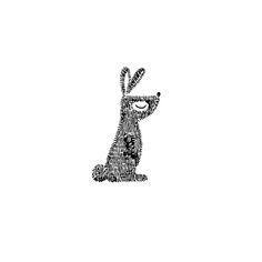 Sweet little rabbit. Take a look at my website: www.mijskje.nl Mijksje | illustration | doodle | card | kaartje | design | illustratie | handgetekend | drawn | tekening | illustratie | konijn | konijntje | rabbit | baby | babykamer