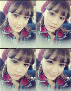#ulzzang #girl #korean #bangs