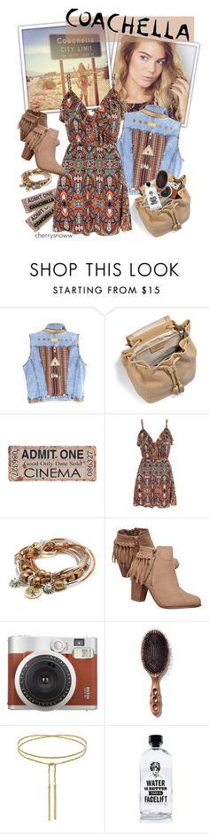"""Coachella outfit"" by cherrysnoww ❤ liked on Polyvore featuring UGG Australia, Mela Loves London, Lizzy James, Wet Seal, Aquaovo, boho, Bohemian, coachella, bohochic and packforcoachella"