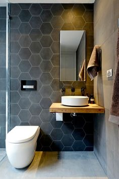 22 examples of exceptionally beautiful tiles for the bathroom - Comfortable home