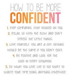 Be confident !!!! #Quote  #Homedecor  #inspire