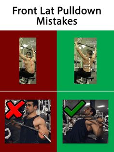 Front Lat Pulldown Mistakes  #Exercises_Mistakes #Mistakes_at_gym #Back_Exercises_Mistakes #muscles_pain # joints_pain #Back_Exercises