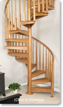Spiral Staircase Plans | SPIRAL STAIRS -