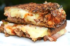 Meatloaf Grilled Cheese from mrshappyhomemaker.com