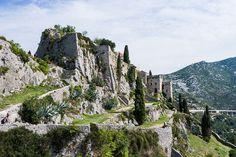 La Fortresse de Klis - Cité de Meereen   Game of Thrones, scènes de tournage, Croatie, visites