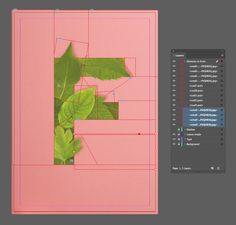 How to Create a Quick Botanical Letter Effect in Adobe InDesign Graphic Design Lessons, Graphic Design Tutorials, Graphic Design Posters, Graphic Design Illustration, Graphic Design Inspiration, Adobe Indesign, Game Design, Graphisches Design, Vector Design